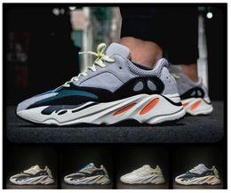 buy popular 790d7 249d4 Wave Runner 700 Kanye West Laufschuhe Jungen Mädchen Trainer Sneaker 700  Sportschuh Kinder Sportschuhe Grau Schwarz Blau rabatt jungen läufer