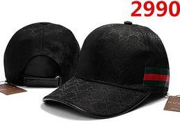 2019 chapéus de snapback preto em branco por atacado Novo designer de marca de Algodão de LuxoCaps chapéus Bordados para homens Moda snapbacks boné de beisebol das mulheres viseira de luxo gorras osso chapéu casquette