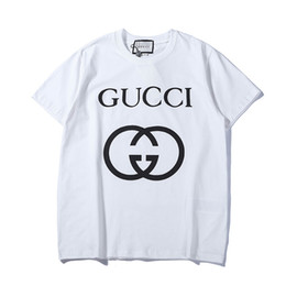 Woman Summer T-Shirt Round Neck T-Shirts Cotton Letter Printing Tee Shirts desde fabricantes