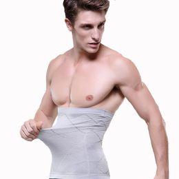 Gaines shapers homme en Ligne-1 pcs Hommes Taille Cinchers Corps Shaper Ventre Homme Taille corset Shapers Cincher Shaper Hommes Ceinture Mince Ceinture Supports