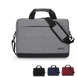 2019 homens e mulheres de negócios laptop bag pasta grande capacidade portátil 14 polegada laptop bag de