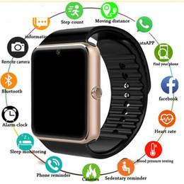 Smart Watch GT08 Uhr SIM / TF für Android Iphone Kamera Bluetooth Armbanduhr Smartwatch Telefon PK DZ09 GT08 GV09 M26 U8 von Fabrikanten