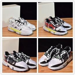 Neuerscheinung Maison Margiela Fasion Laufschuhe Liebhaber Schuhe Distressed Leder Mesh Farbe Sneakers Größe 36-44 von Fabrikanten