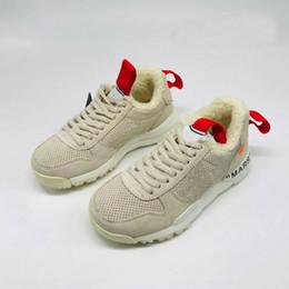 Yard scarpe donne online-Nuova peluche caldi scarpe invernali artigianato delle donne degli uomini Mars Yard TS NASA 2.0 Scarpe da corsa Astronauta Nero Grigio Trainer jogging Sneakers Sport