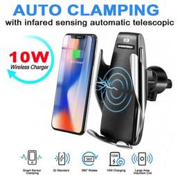 2019 Promotion chargeur de voiture Amazon Wireless S5 10W chargeur de voiture de charge rapide 360 rotation chargeur de chargeur sans fil ? partir de fabricateur