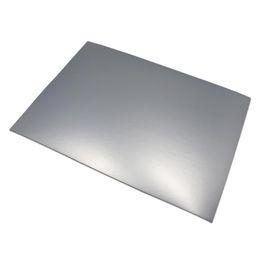 Impresora adhesiva adhesiva online-50 unids / lote Mate Plata / Oro 21 * 29.7 cm Formato A4 Papel de aluminio autoadhesivo Papel de impresión A4 Etiquetas adhesivas Papel apto para impresoras láser