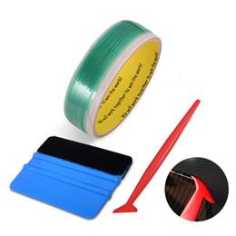 Nouveau 5M Vinyle Carbone Film Sans Couteau Bande Voiture Emballage Raclette Set Fenêtre Teinte Outil Moto Voiture Enveloppe Accessoires extérieurs ? partir de fabricateur