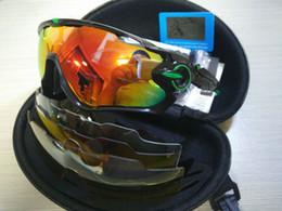 Explosionsgeschützte sonnenbrille online-Jawbreaker Radfahren Sonnenbrillen Mann Mode Outdoor Sport Reiten Winddicht Eyewear Explosionsgeschützte Praktische Brille Heißer Verkauf 44 16bl WW