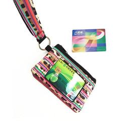 Браслет держателя паспорта онлайн-Многофункциональная Неопреновая Обложка для Паспорта Подсолнечник Леопард Корова с цветочным принтом ID Card Wristlet Coin Wallet 08
