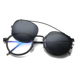 clipes de quadros Desconto Óculos de armação com clipe mulheres homens designer de marca armações de óculos óculos de marca óculos de armação de lente clara quadro oculos TB710