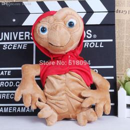 """2019 mario aniversário Atacado-E.T. os brinquedos de pelúcia Extra-Terrestrial Soft Stuffed Dolls 10 """"25 CM ANPT280-2"""