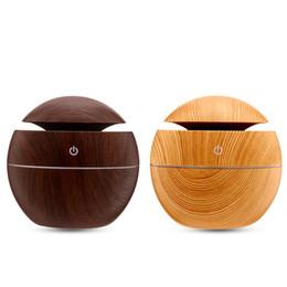 2019 nuovo diffusore di olio essenziale del grano di legno del diffusore dell'olio essenziale del grano di legno per il salone della camera da letto della casa dell'ufficio da bambù vivo fornitori