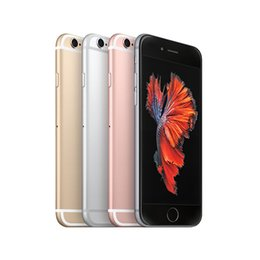 Canada Original Apple iPhone 6s 6sp 16GB 64GB 128GB iOS 9.0 A9 Quad Core téléphone cellulaire avec ID tactile rénové téléphones cellulaires débloqués 4g Offre