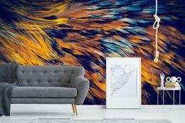 2019 feder wandmalereien [Selbstklebend] 3D Feather 530926 Wall Paper Fototapete Wall Print Decal Murals rabatt feder wandmalereien