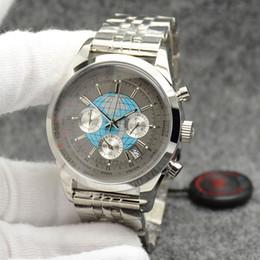 толстые мужские часы Скидка Оптовые мужские любимые часы 44 мм Кварцевый хронограф мужские часы 16 мм толщиной Wrtistwatches мировое время вокруг внешнего обода