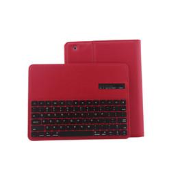 Envío libre de DHL Funda de cuero Teclado para iPad 2/3/4 bluetooth inalámbrico teclado cajas mayoristas Smart ipad cubierta teclado proveedor desde fabricantes