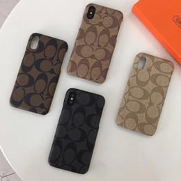 Cas d'impression élégant téléphone pour iphone 6 6s 7 8 plus X XS Max XR célèbre marque Smartphone Shell couverture de la peau arrière ? partir de fabricateur