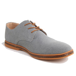 Повседневная одежда для мужчин онлайн-Men shoes Oxford Genuine Leather Casual Shoes Dress Male Flats Gentleman Luxury Lace-Up Solid zapatos hombre