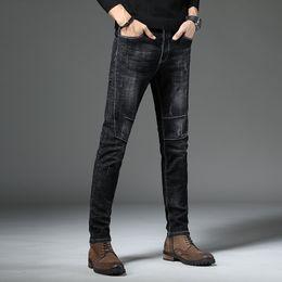 607f520c727 New 2019 Men Jeans Pants Korean Style Blue Mens Skinny Jeans Man Slim Fit  Stretch Trousers Men's Denim Pants Casual Male discount korean stretch pants
