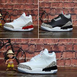 weiß 3 DJ Jordan J3 Womens III Jumpman bunt Günstige Aj Air Zement 3s Basketballschuhe Wolf grau schwarz Retro Kinder Nike Turnschuhe 3 schwarz Khaled L4q3AR5cj