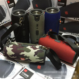 amplificador de micrófono portátil Rebajas Venta al por mayor Drum S portátil Bluetooth inalámbrico altavoz impermeable y a prueba de polvo subwoofer exterior reproductor de música estéreo de viaje impermeable