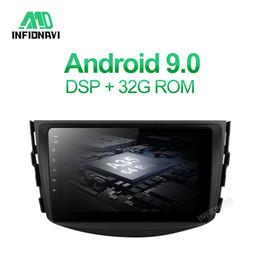 Dvd autoradio für rav4 online-Android 9.0 Auto-DVD für RAV4 RAV4 2005 2006 2007 2008 2009 2010 2011 mit Radio-Navigations 2 + 32G Autoradio gps-Spieler