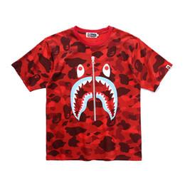 Camiseta camuflaje mujer online-Bape Camiseta de diseñador para hombre Bape Camiseta de diseñador Camuflaje Hombres Mujeres Camisetas de alta calidad M-2XL