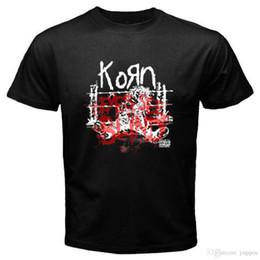 T-shirt noir Taille S à 3XL de la mode 2018 été New KORN * yeux Voir Blind Alternative Rock Band Hommes noir ? partir de fabricateur