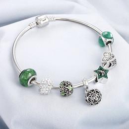 regalos románticos bola de cristal Rebajas Boho borla de moda diy brazaletes hechos a mano bolas perlas pulsera de cristal pulsera partido de la joyería al por mayor para las mujeres regalos romántico
