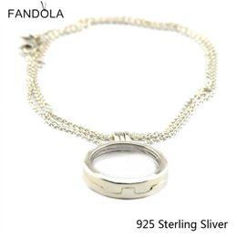 Großes locket silber online-925 Sterling Silber große schwimmende Medaillon Silber Anhänger Original Charms europäischen Stil Schmuck Anhänger CKK