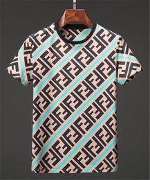088c4b23708 Diseñador de Mens T Shirts Marca de Verano Hombres Hombres Mujeres Pareja  Tees FF Letras Imprimir Casual Mens Marca Camisas Moda Mujeres Tops Asia  Tamaño