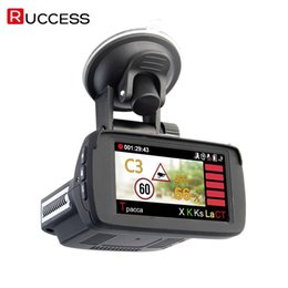 car gps logger Coupons - RUCCESS s 3 In 1 CAR DVR GPS Camera Logger Dash Cam for Russia Laser 2017 Ambarella 1080p Detector