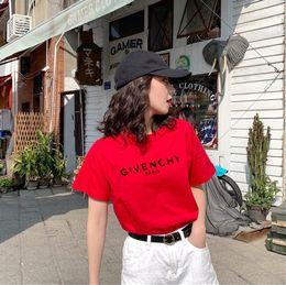 b426231c917a 2019 Luxury Brand designer T-Shirts Dolce Women T Shirt O-Neck Short Sleeve  Summer Tops Tee Trend style Yves Print Vogue clothing dg