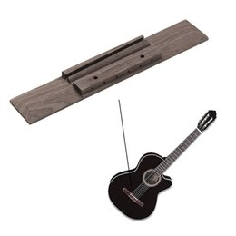 гитара гайка долбежные Скидка 180x30x8 мм палисандр классическая гитара мост для музыкальных инструментов гитара запасные части аксессуары