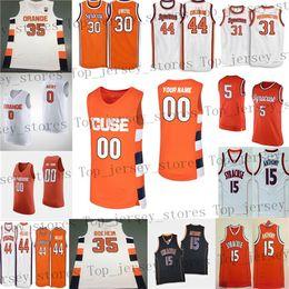 Сиракузы джерси онлайн-Пользовательские 2020 НКАА Сиракузы оранжевой любое имя номер 35 дружище Boeheim 0 Брайсен Goodine 21 Марек Dolezaj колледж баскетбол кофта мужские молодежные