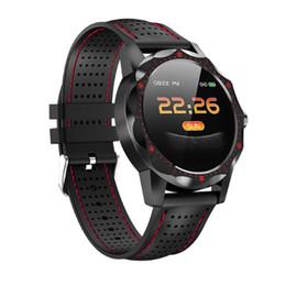 2019 smart watch höhenmesser Smart Watch Outdoor Sport IP67 Leben wasserdicht Barometer Thermometer Höhenmesser Armband Fitness Uhr für iOS Android rabatt smart watch höhenmesser