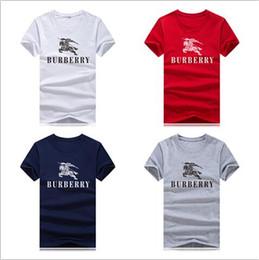 Reiterhemden online-S-5XL Herrenhemd T-Shirt Racetrack Fahrer Kurzarm Designer T-Shirt 100% Baumwolle Pony Print Casual Herren T-Shirt Outdoor Sport Soul Shirt