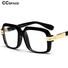 2019 brillengestell rosa Starker Rahmen Retro Square Glasses Frames Männer Frauen Optical Fashion Glasses 45820