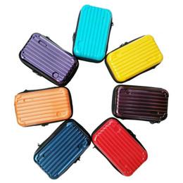 2019 макияж для чемодана ПК жесткий чехол для хранения водонепроницаемый косметические сумки герметичный мешок для туалетных принадлежностей Мода миниатюрный ручной дорожный чемодан косметички скидка макияж для чемодана