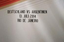 badges allemagne Promotion Coupe du monde 2014, Allemagne Détails du match Allemagne et Argentine vs Badge de football