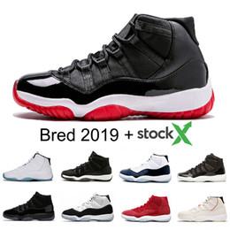 11 11s Männer Basketball Schuh Turnschuh Heiress Velvet Gym Red Concord Space Jam Platinum Tint XI 2020 neue Ankunfts Frauen Designer Trainer Schuhe