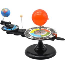 Sonnensystem Sonne Erde Mond Umlaufbahn Planetarium Modell Kinder Kinder Pädagogisches Spielzeug Wissenschaftliches Spielzeug Schule Lehrmittel von Fabrikanten