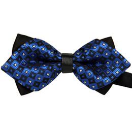 Cravatta cravatta online-feitong uomini moda uomo classici bowtie accessori cravatta bowtie signori di lusso cravatte da sposa pre legato regolabile # y30