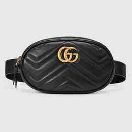 2019 bolsos de marca famosa Bolsos de mano de lujo bolsos de mujer bolso de cintura de diseñador Fanny Pack bolsos de señora cinturones mujeres marcas famosas bolso de hombro bolso de hombro monedero rebajas bolsos de marca famosa