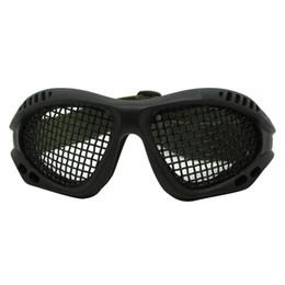 Falanks dişli Avcılık Taktik Gözler Koruma Metal Mesh Pinhole Gözlük Gözlüğü Paintball Ayarlanabilir Kemer Kayışı nereden