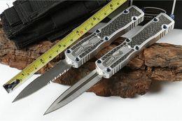 coltelli fisici tattici coltelli kydex Sconti Mic MT St. Ant Fibra di carbonio (due modelli) Coltelli da coltelli da caccia di sopravvivenza automatica campeggio ZT Panchina 1pcs freeshipping