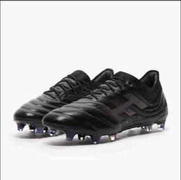 2020 meninos esporte sapatos de futebol Novo!!! Copa 19 + 19.1 FG Chuteiras de Futebol para Homens Chuteiras Botas de Futebol Homens Sapatos Cleated Chaussures Scarpe Calcio Meninos desconto meninos esporte sapatos de futebol