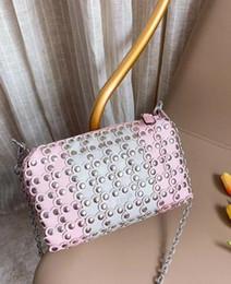 saco de embreagem de flor de cetim vermelho Desconto Super-venda de couro super-fibra com saco de Liuting e nova moda star bolsa bolsa e bolsa de senhora produção Seiko. Tamanho: 22cm-13cm
