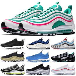 Heißer Verkauf LX Anthrazit Amarillo Throwback Zukünftige Männer Frauen 1997 OG Laufschuhe Triple Black KPU billige Ausbildung Designer Schuhe