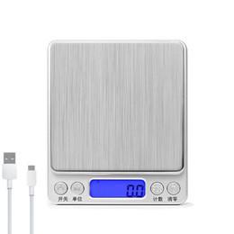 Escala eletrônica Mini Digital diz 0,01 Bolso Peso jóias cozinha padaria chamada escalas precisas 1KG / 2kg / 3 kg / 0.1g 200G / 500g / 0.01g USZ170 de